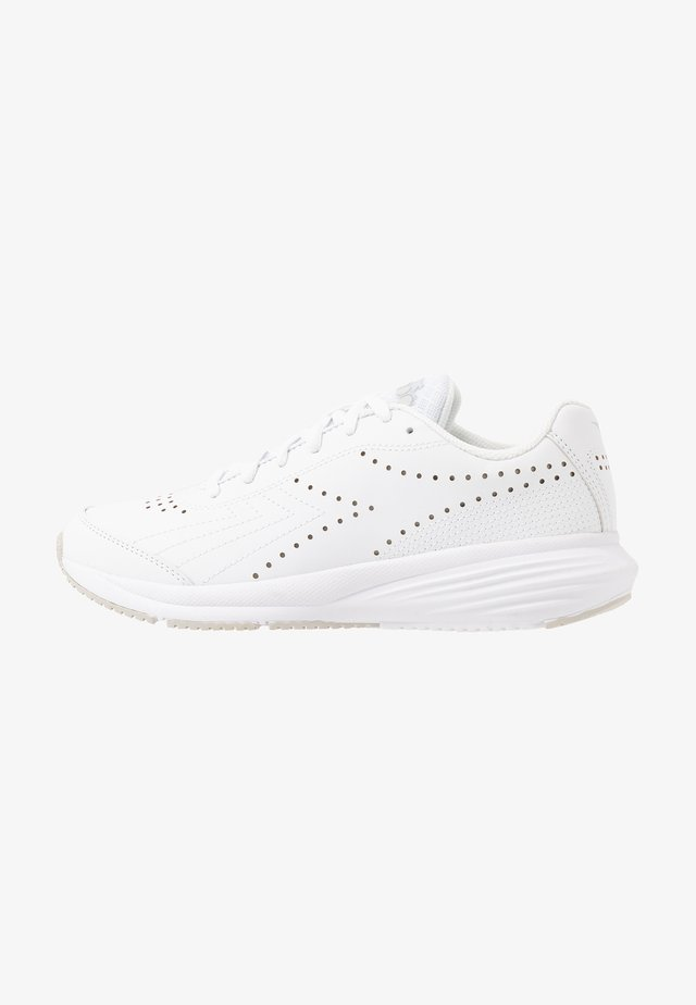 FLAMINGO 5 - Chaussures de running neutres - white/silver