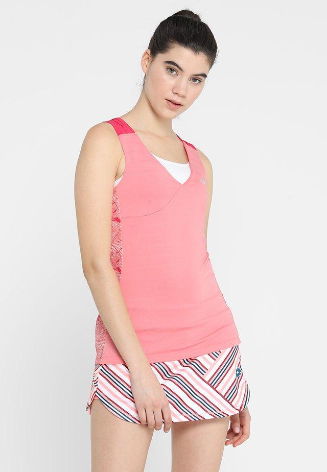 TANK CLAY - Treningsskjorter - pencil pink