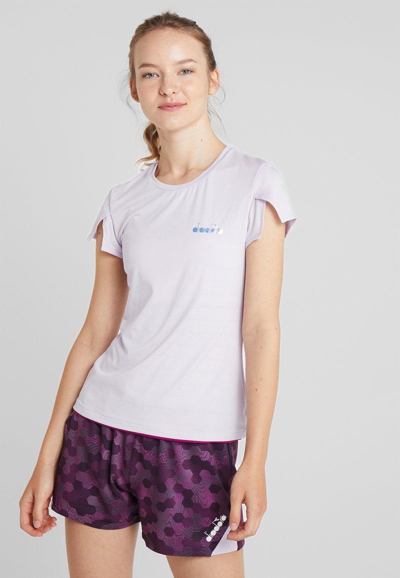 Diadora - T-shirts print - lavander