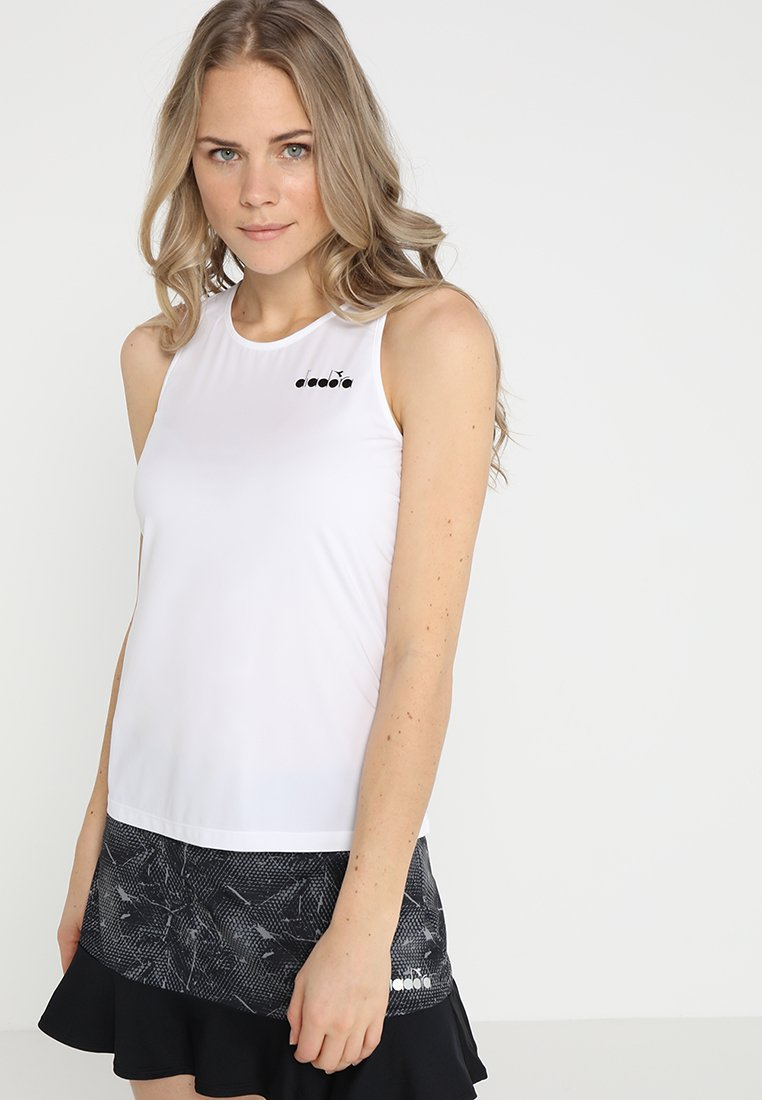 Diadora - TANK EASY TENNIS - Top - optical white