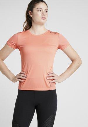 RUN - Basic T-shirt - pink peach