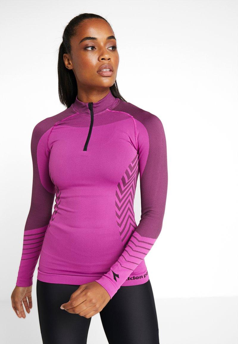 Diadora - ZIP ADV - Treningsskjorter - violet raspberry