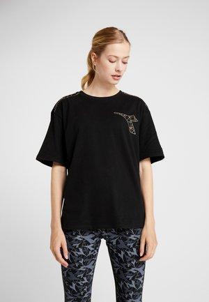 FREGIO - Camiseta estampada - black