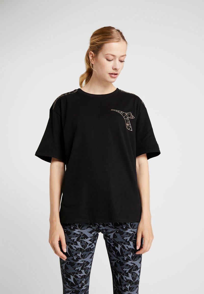 Diadora - FREGIO - T-shirts print - black