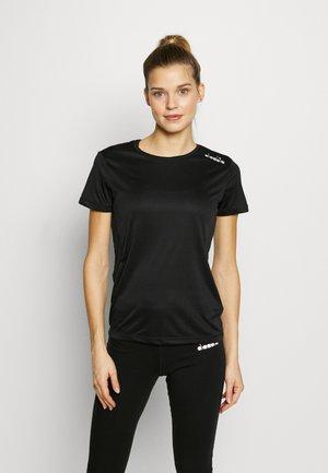 RUN - T-shirt z nadrukiem - black