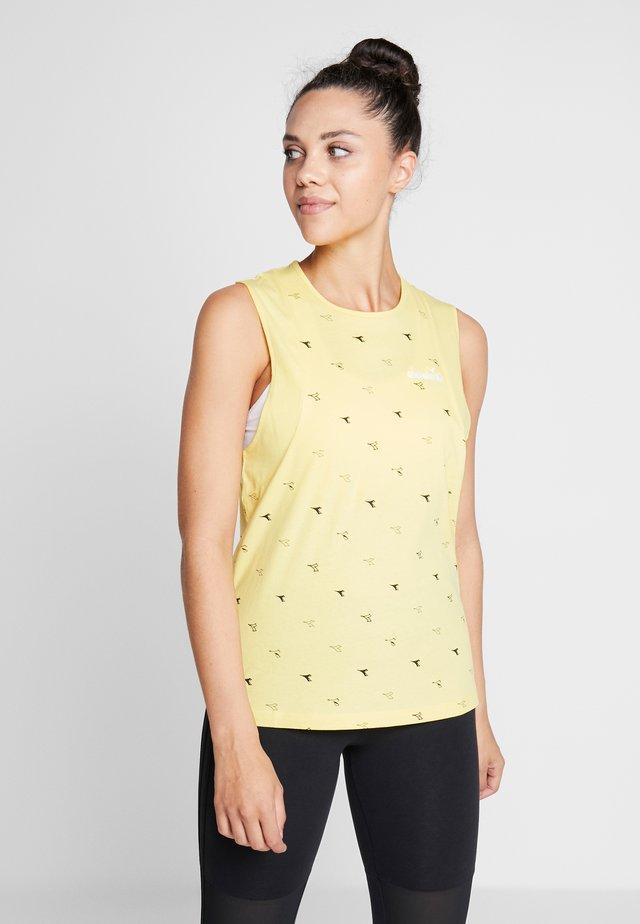 TANK  - Top - light yellow