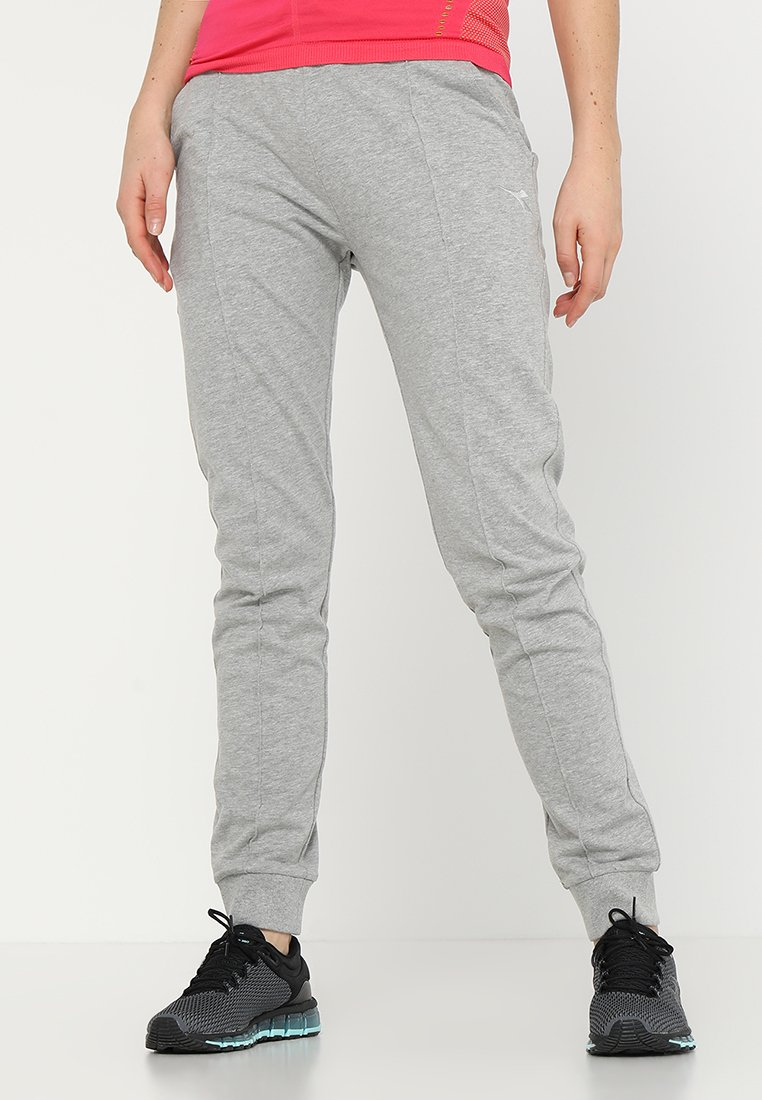 Diadora - CUFF PANTS CORE - Træningsbukser - light middle grey melange