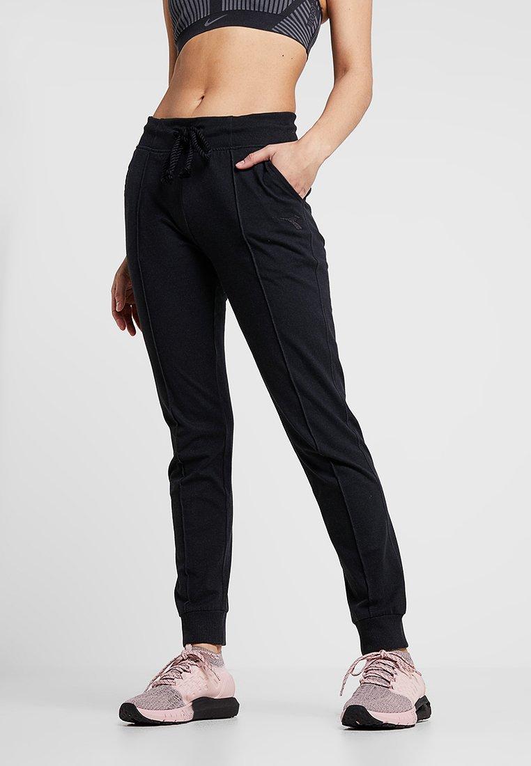 Diadora - CUFF PANTS CORE - Jogginghose - black