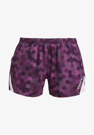 SHORTS - Korte sportsbukser - plum perfect/boysenberry