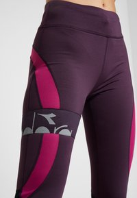 Diadora - FILAMENT PANT WINTER - Tights - violet perfect - 6