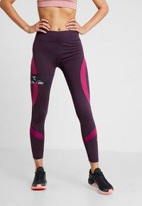Diadora - FILAMENT PANT WINTER - Tights - violet perfect - 0