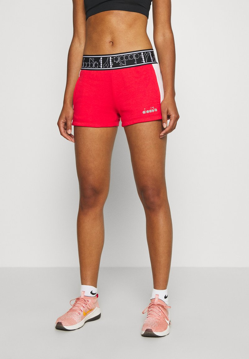 Diadora - SHORT BE ONE - Sports shorts - lively hibiscus red