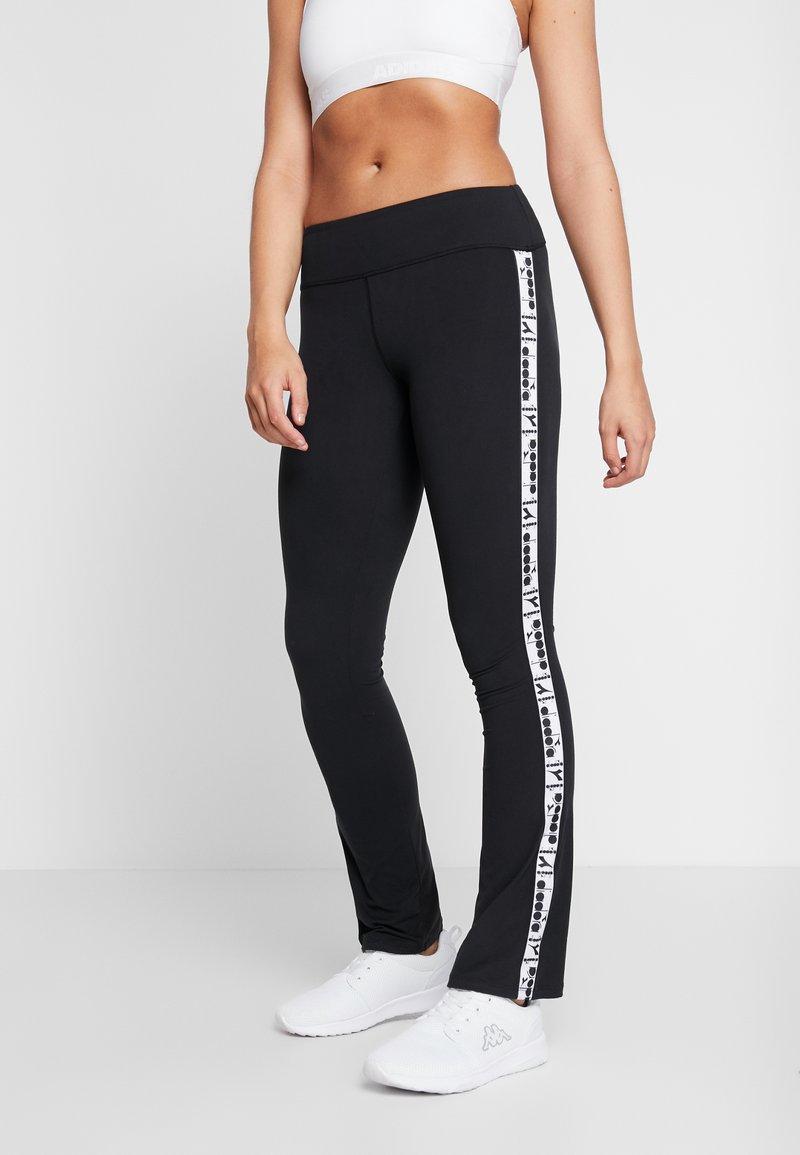 Diadora - PANTS BE ONE - Pantaloni sportivi - black