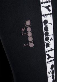 Diadora - PANTS BE ONE - Pantaloni sportivi - black - 4