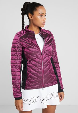 JACKET WORKOUT - Verryttelytakki - violet boysenberry