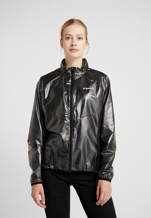 X-RUN JACKET - Chaqueta de deporte - black