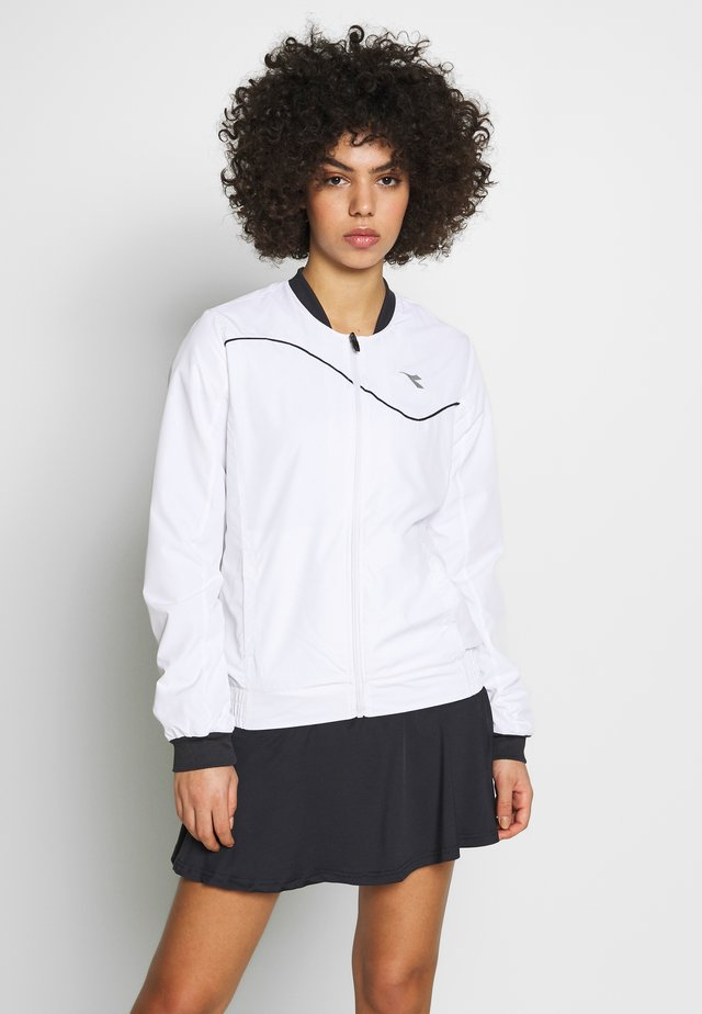 JACKET COURT - Verryttelytakki - optical white