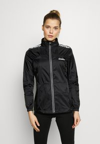 Diadora - LIGHTWEIGHT JACKET - Veste coupe-vent - black - 0