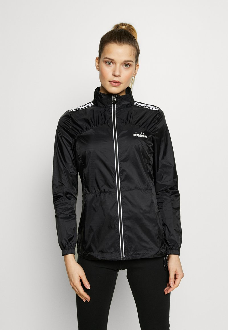 Diadora - LIGHTWEIGHT JACKET - Veste coupe-vent - black