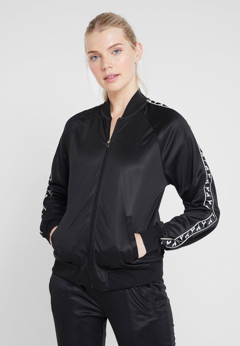 Diadora - LIGHT SUIT CHROMIA - Trainingsanzug - black