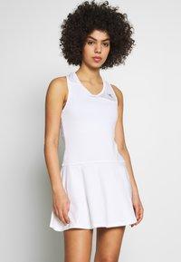 Diadora - COURT - Žerzejové šaty - optical white - 0