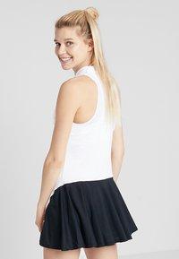 Diadora - DRESS CLAY - Sportovní šaty - optical white - 2