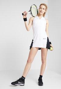 Diadora - DRESS CLAY - Sportovní šaty - optical white - 1