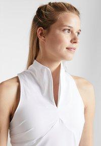 Diadora - DRESS CLAY - Sportovní šaty - optical white - 4