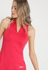 Diadora - DRESS CLAY - Sportskjole - red virtual pink - 3