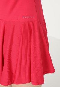 Diadora - DRESS CLAY - Sportskjole - red virtual pink - 4