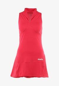 Diadora - DRESS CLAY - Sportskjole - red virtual pink - 5
