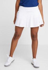 Diadora - COURT - Sportovní sukně - optical white - 0
