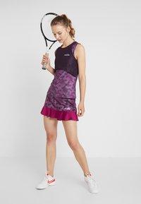 Diadora - SKIRT EASY TENNIS - Sports skirt - plum perfect/boysenberry - 1
