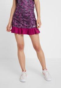 Diadora - SKIRT EASY TENNIS - Sports skirt - plum perfect/boysenberry - 0