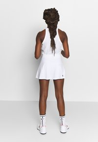 Diadora - SKIRT EASY TENNIS - Rokken - optical white - 2