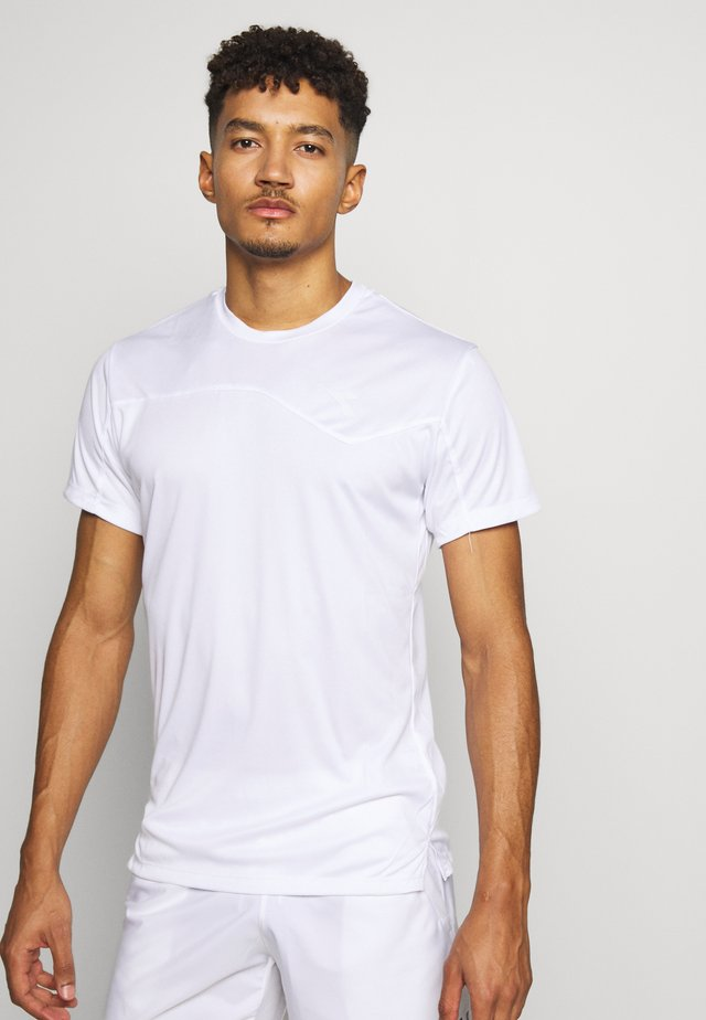 TEAM - Printtipaita - optical white