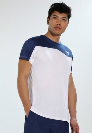 TEAM - Print T-shirt - saltire navy