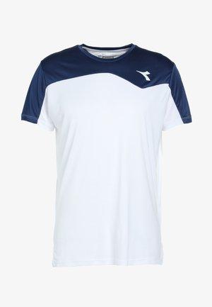 TEAM - T-shirt print - saltire navy