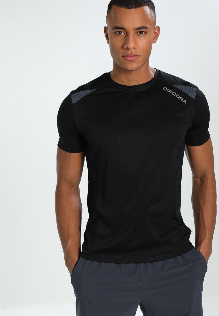 Diadora - Camiseta estampada - black