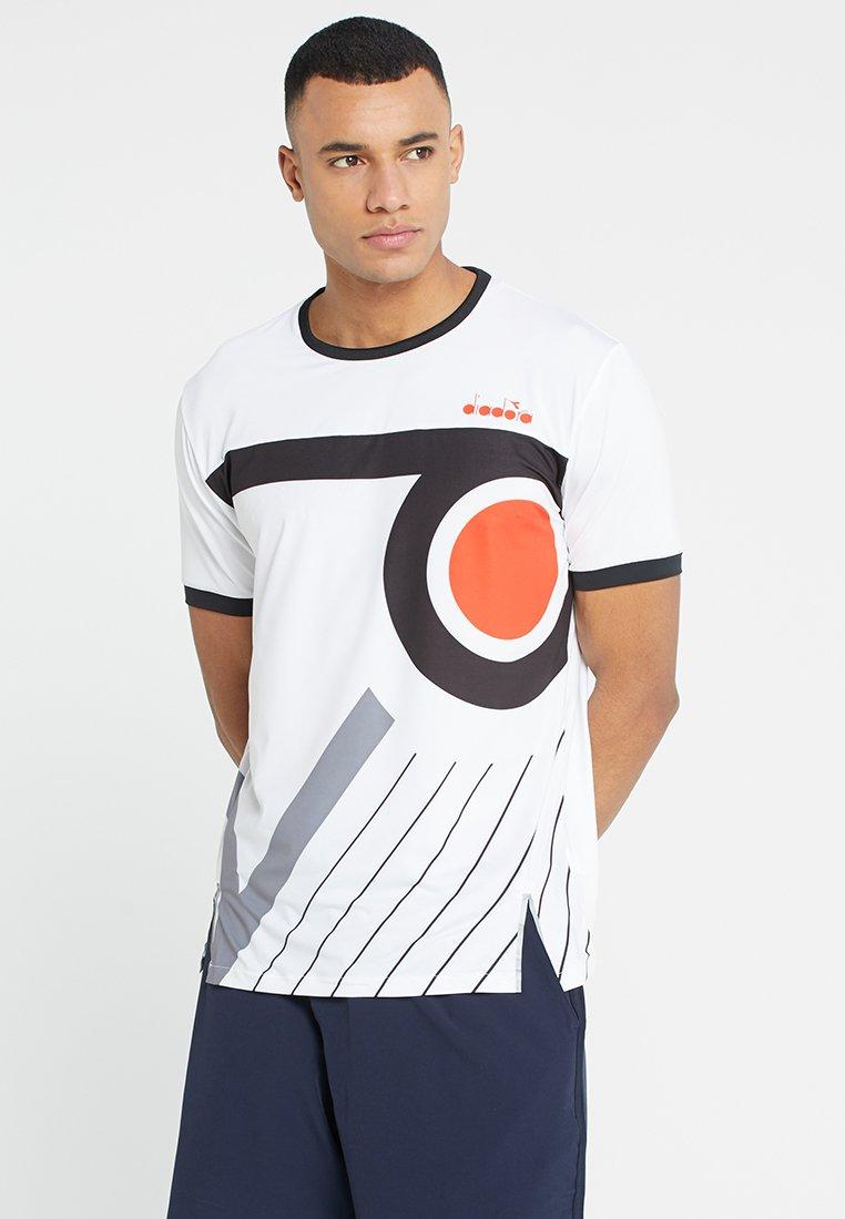 Diadora - CLAY - T-Shirt print - optical white