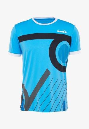 CLAY - T-shirt imprimé - sky blue malibu