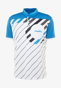 Diadora - T-shirt med print - blue deep water - 4