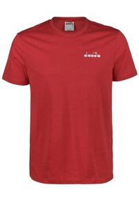 Diadora - CHROMIA - Basic T-shirt - dark red - 2