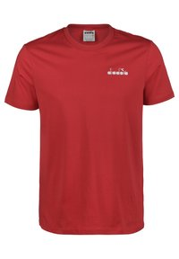 Diadora - CHROMIA - Basic T-shirt - dark red - 0
