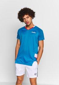 Diadora - Treningsskjorter - bright cyan blue - 0
