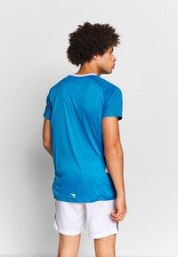 Diadora - Treningsskjorter - bright cyan blue - 2