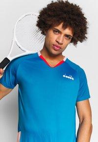 Diadora - Treningsskjorter - bright cyan blue - 3