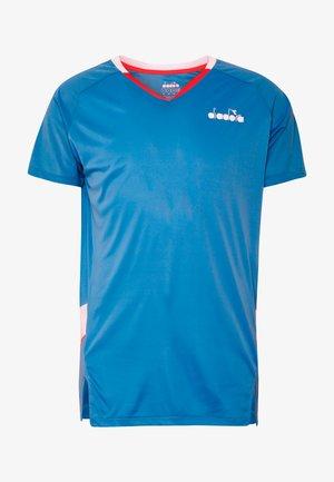 Funkční triko - bright cyan blue