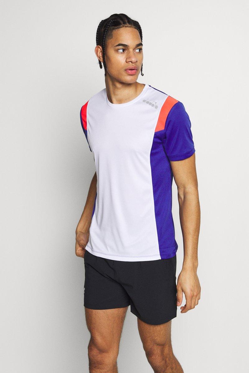 Diadora - RUN - Camiseta estampada - optical white