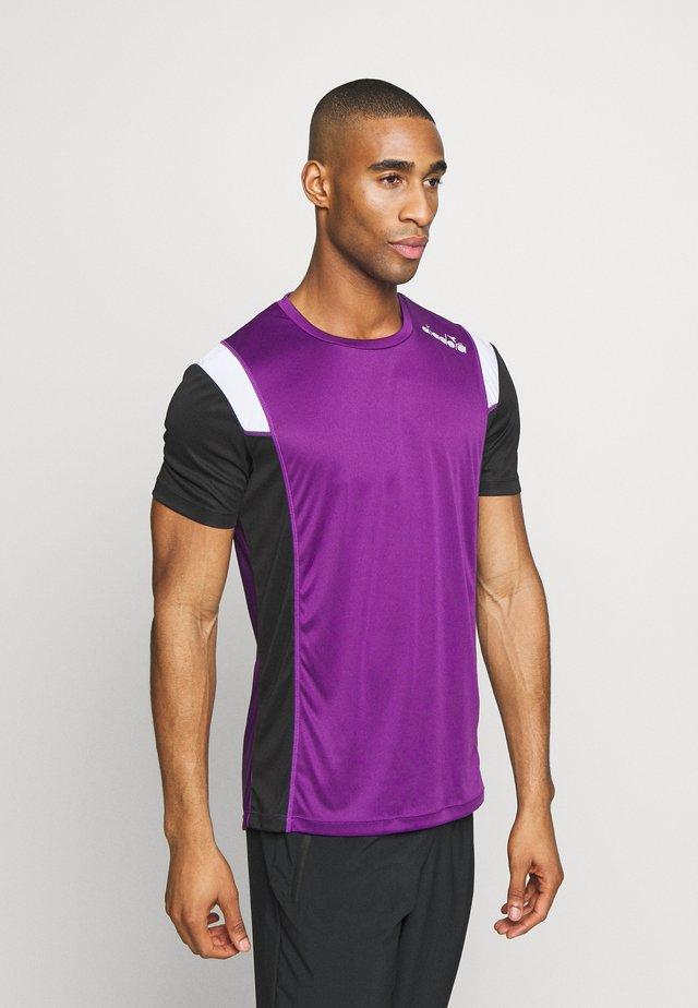 RUN - Print T-shirt - violet magic